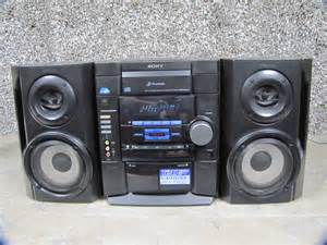 sony mhc rg20 3 cd dual cassette am fm stereo compact
