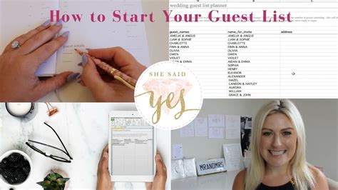 Wedding How To Start by How To Start Your Wedding Guest List