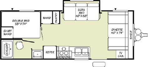 fleetwood pioneer travel trailer floor plans 2007 fleetwood pioneer 21cks floorplan