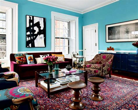 Ideas For Colorful Sofas Design 30 Design Ideas For Your Eclectic Living Room