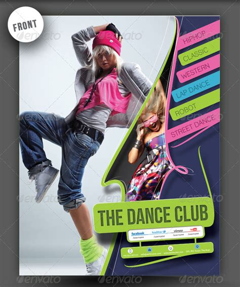 dance poster templates 34 free psd indesign format
