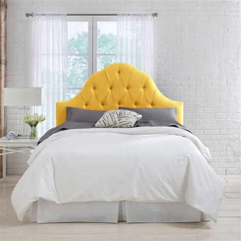 Tufted Headboard Overstock by 25 Best Ideas About Yellow Headboard On