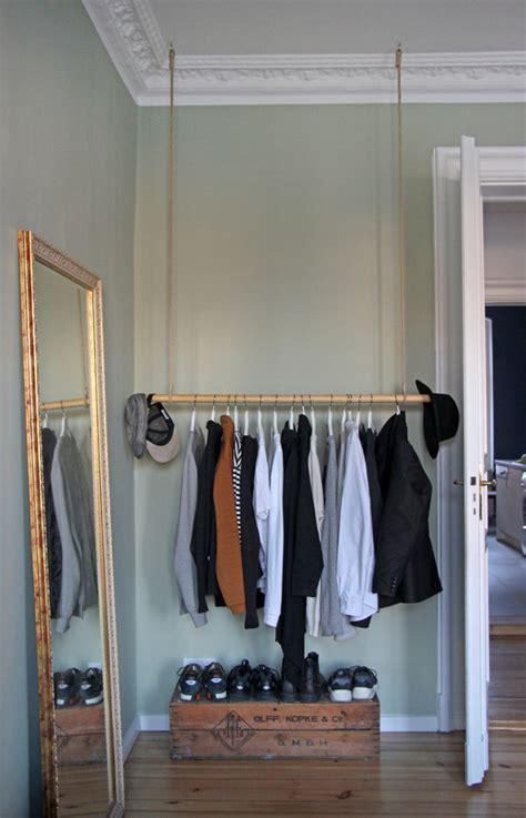 schwebende kleiderstange warum die kleiderstange der bessere kleiderschrank ist