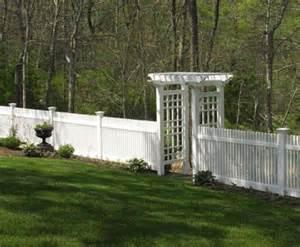 4 Ft Fence With Trellis 4ft Chestnut Hill With Arborfrom Walpole Woodworkers