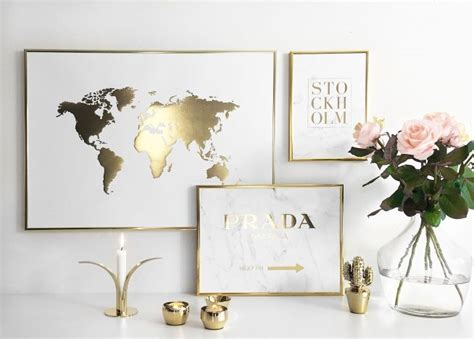 White And Gold Room Decor Best 25 White Gold Room Ideas On Pinterest White Desk Gold White Desk Inspiration And White