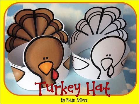 Turkey Crafts For The Kiddos Thanksgiving Hat Template