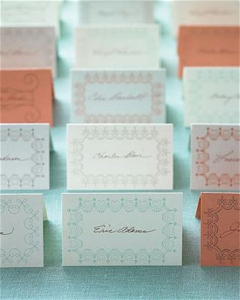 Martha Stewart Thank You Card Template by Wedding Place Cards You Can Print For Free
