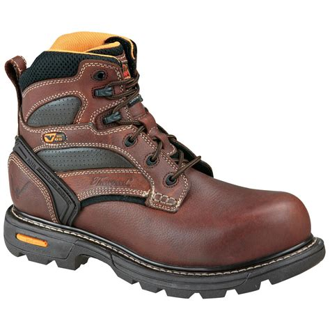 safety toe shoes s thorogood 174 6 quot composite safety toe boots brown