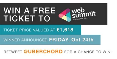 K Fed Cant Even Give Tickets Away To His Concerts by We Are Giving Away One Free Web Summit Ticket
