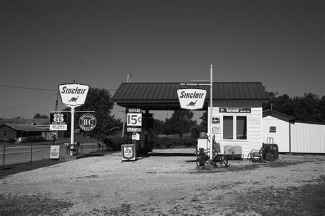 Route 66 Home Decor route 66 gas station photograph by frank romeo