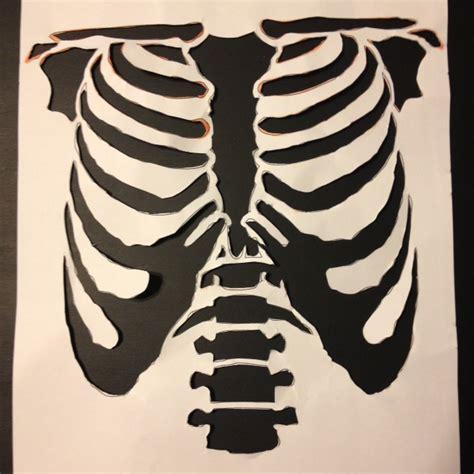 reved vintage diy skeleton costume