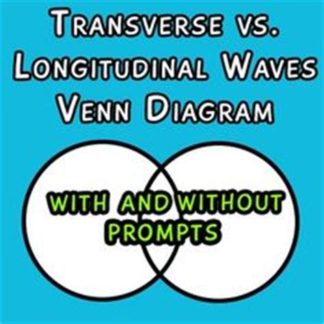 venn diagram of transverse and longitudinal waves 1000 images about science materials on task