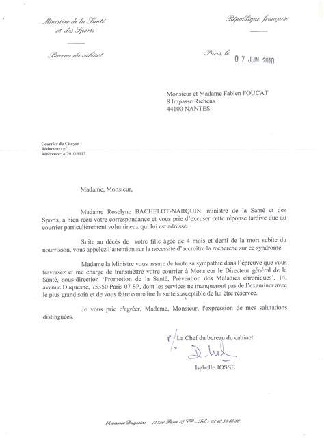 Exemple De Lettre Adressée Au Ministre De L Intérieur Doc Modele De Lettre Au Ministre De La Sante