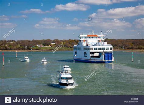 boat transport lymington lymington ferry stock photos lymington ferry stock