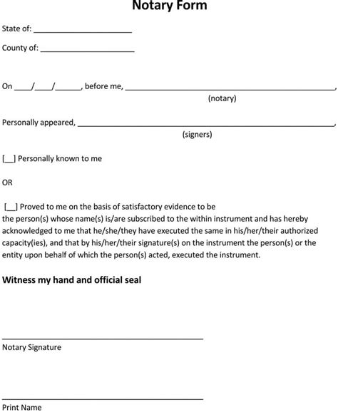 sample notarized letters templates writing tips