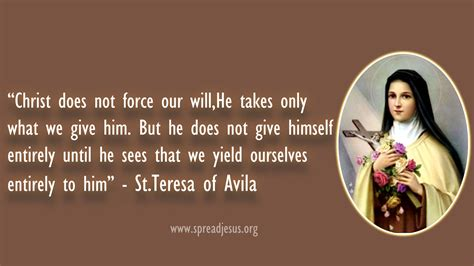 st quote teresa of avila s quotes and not much