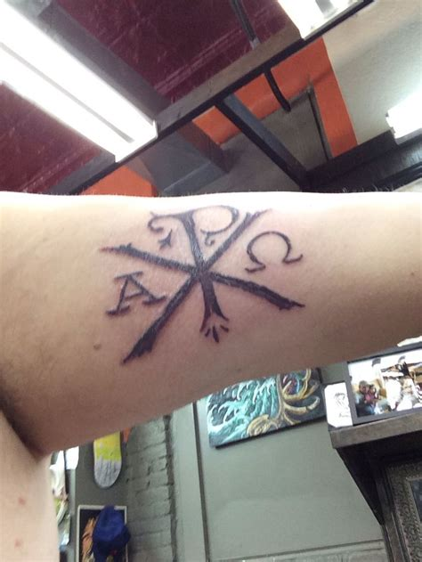 chi rho tattoo chi rho tattoos