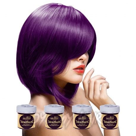 directions plum purple semi permanent hair dye 4 pack