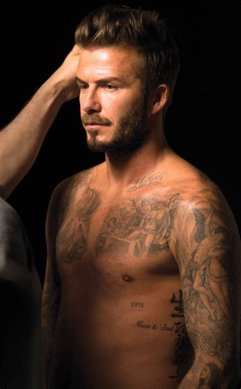sexiest tattoo a guide to david beckham s sexiest tattoos you re welcome