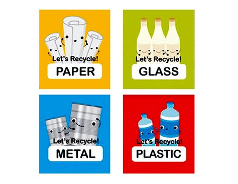 printable recycle stickers recycling signs for kids www imgkid com the image kid