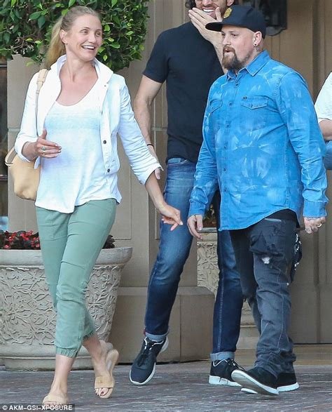Cameron Knot Blouse cameron diaz looks blissfully happy on casual outing with