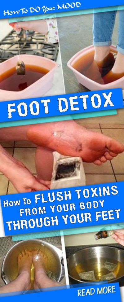 Detox Through Your by Foot Detox How To Flush Toxins From Your Through