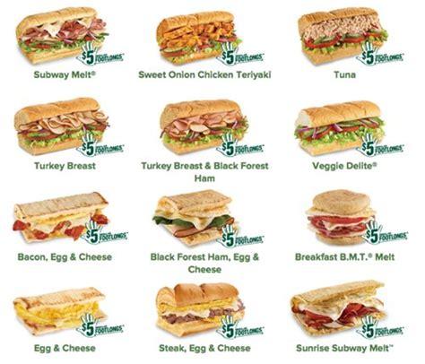 5 Dollar Subway Gift Card - grubgrade februany at subway starts today