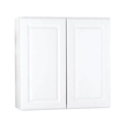 White Wall Cabinet Laundry Room Hton Bay 30x30x12 In Hton Wall Cabinet In Satin White Kw3030 Sw The Home Depot 129 2