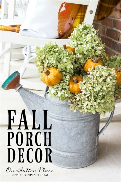 Fall Decor Inspiration For Your Easy Diy Fall Porch Decor Ideas On Sutton Place