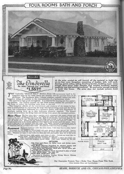 1950 bungalow house plans sears bungalow house plans 1940s 1950s homes pinterest