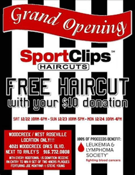 style media group: score a free haircut at sport clips new