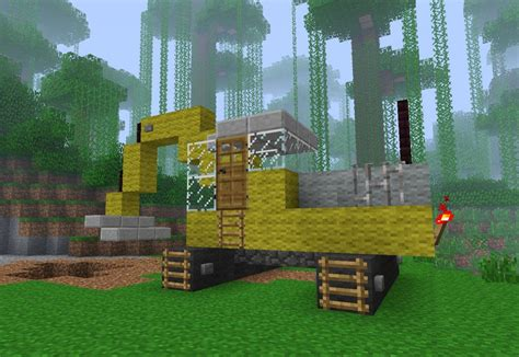 minecraft dump truck related keywords suggestions for minecraft excavator
