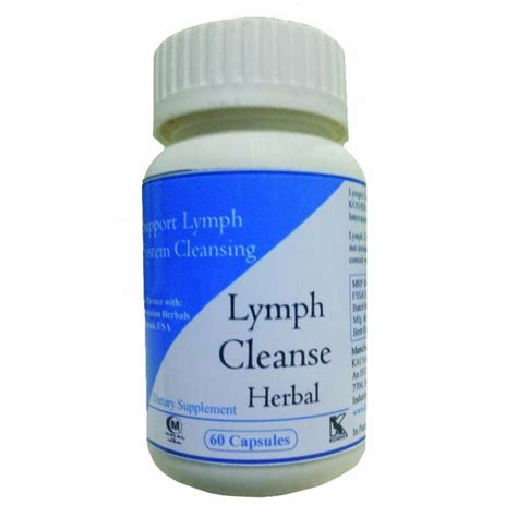 Lymph Detox Herbs by Buy Hawaiian Herbal Lymph Cleanse Capsule 60 Capsule