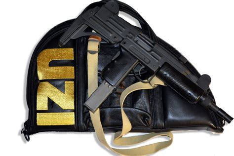 S W A T Leather black leather uzi s w a t uzi uzi carrying cases