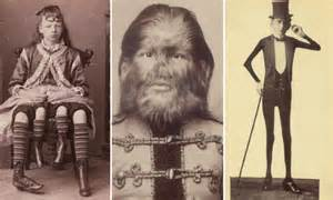 carnival sideshow freaks from 19th century new york