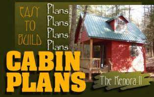 cabin floor plans find house plans