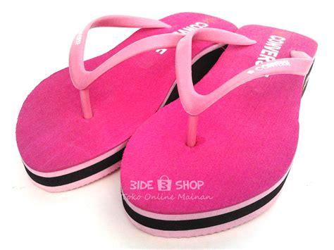 Sandal Jepit Wanita By 3wireshop jual sandal jepit hak converse pink sendal wanita murah