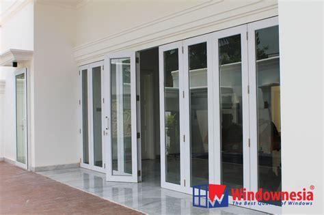 Pintu Lipat Plastik Bekasi charming folding door kaca contemporary plan 3d house