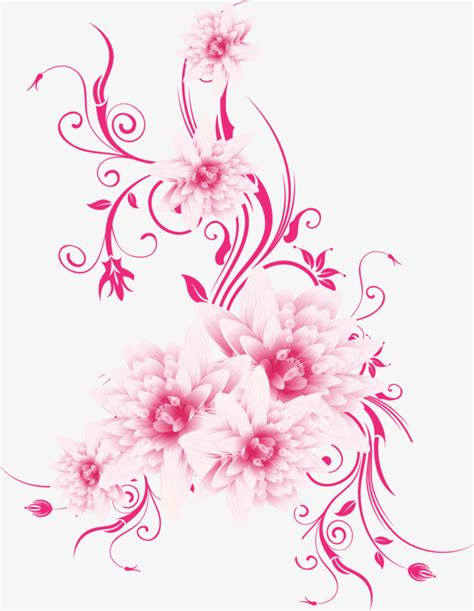 Bunga Violces Pink pink flowers vector flowers pink vector png and vector