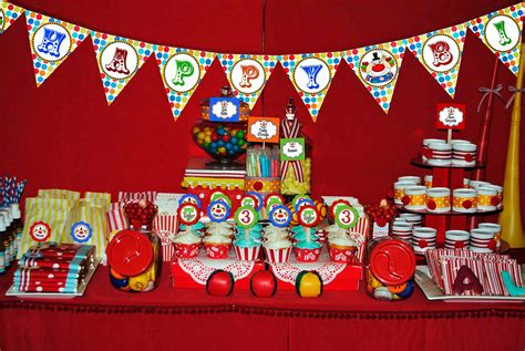 themed birthday colourful carnival themed birthday margusriga baby