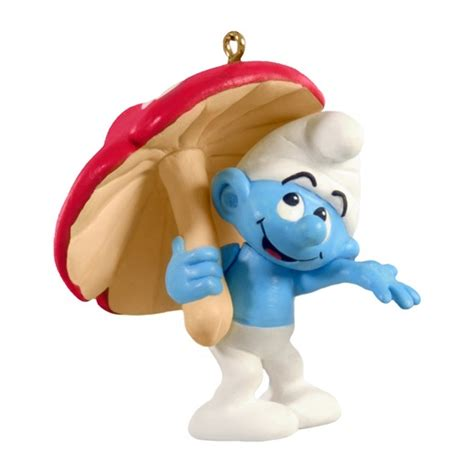 smurf hallmark ornament christmas pinterest products