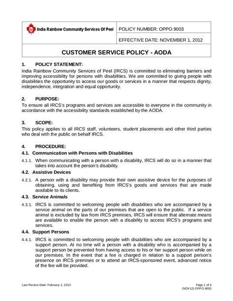 aoda policy template aoda policy template outletsonline info
