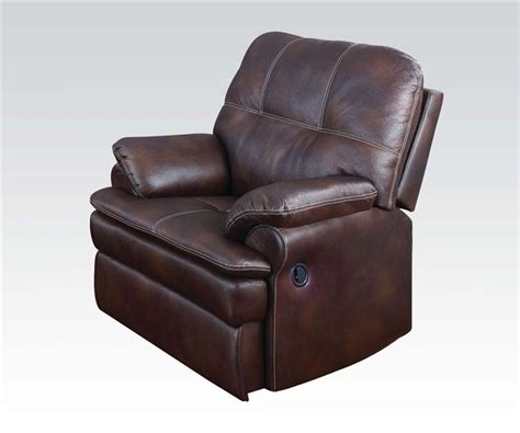 recliner with console microfiber zamora brown polished microfiber reclining console