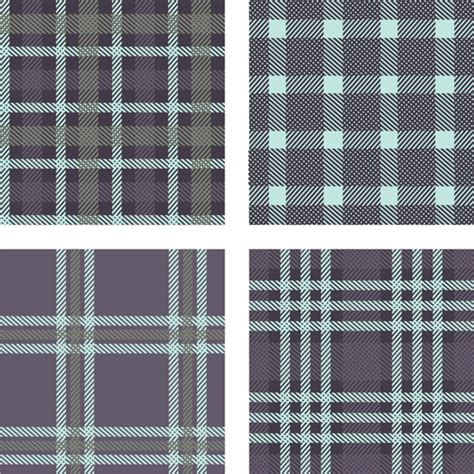 plaid pattern font fabric plaid pattern vector material 04 vector pattern