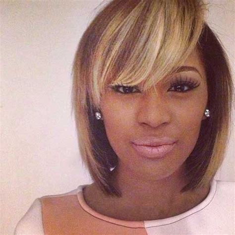 Weave Hairstyles With Side Bangs by Ora Blunt Bob Newhairstylesformen2014