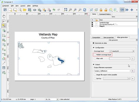 qgis print tutorial automating map creation with print composer atlas qgis
