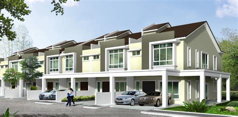 Floor Plan For 2 Story House by Phase 5c Double Storey Terrace Houses Ipoh Namcom