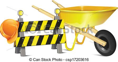 Road Barrier 9 11 road barrier with hat and vector illustration