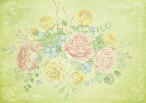 gambar bunga bunga bingkai desain ruang teks