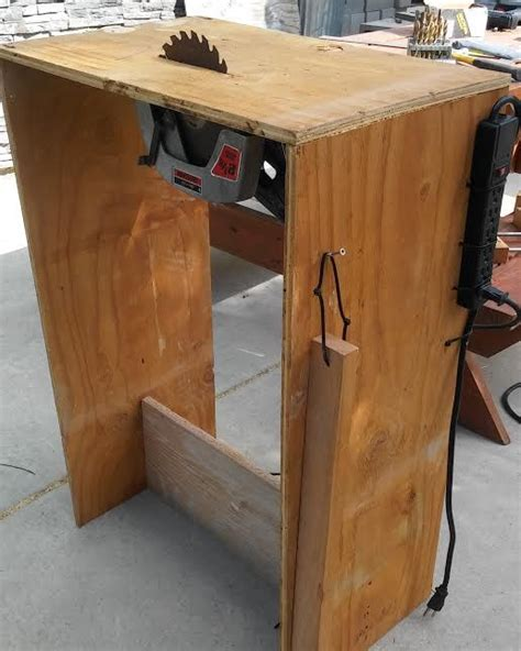 circular saw into table saw circular saw turned into a table saw with shut switch
